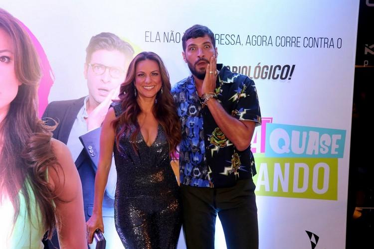 Mina Nercessian e Leandro Lima