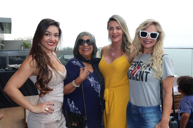 Monica Melissa, Irce Brito, Prislla e Miriam Freitas