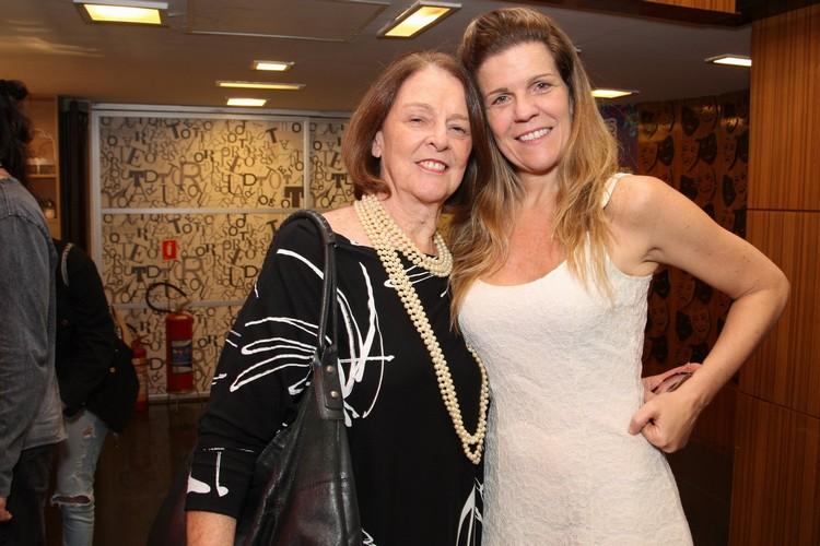 Norma Thiré com a filha Luisa Thiré