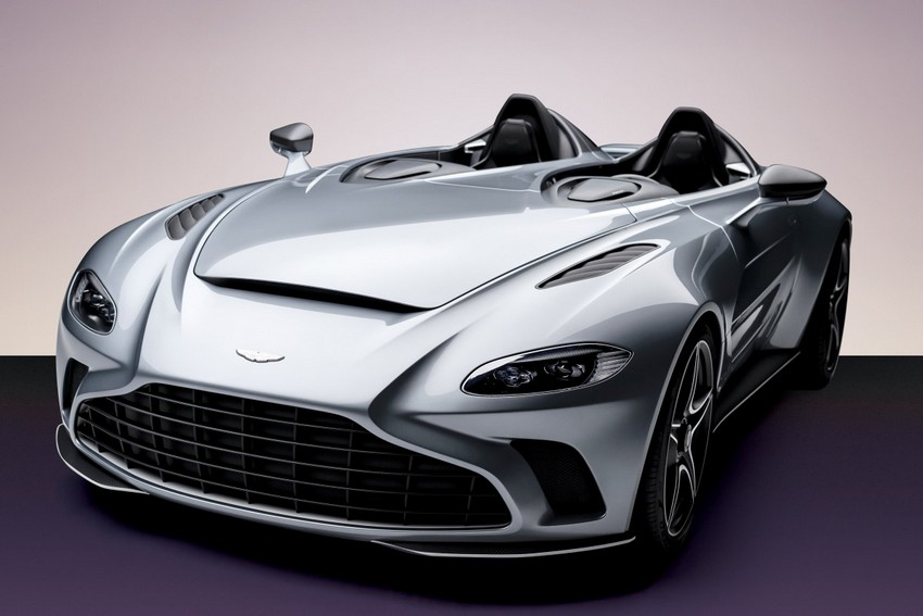 Aston Martin apresentou o V12 Speedster enquanto esperamos que Daniel Craig fique ao volante em Bond 25
