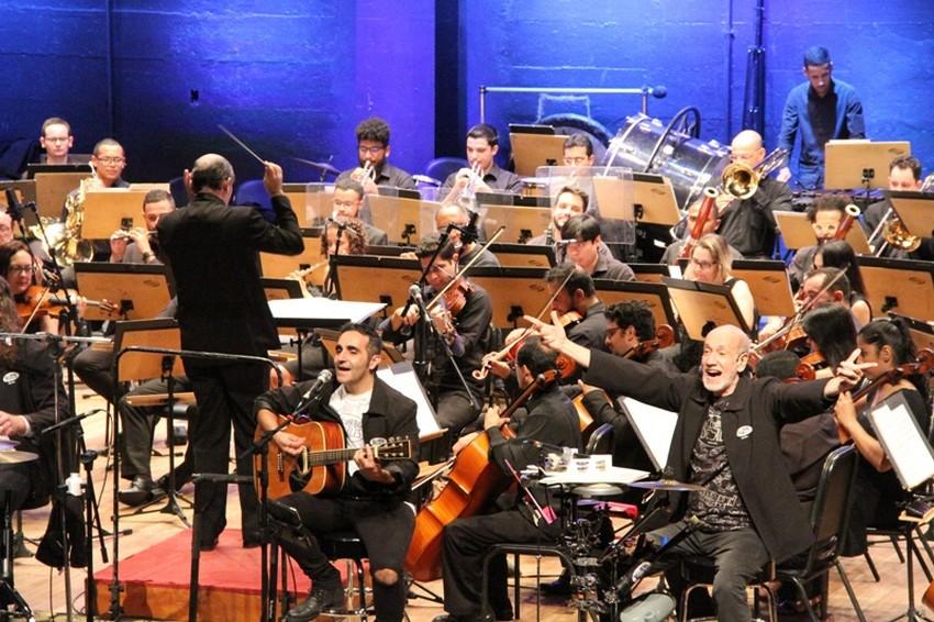 Live Solidária com Orquestra Sinfônica e Big Beatles no próximo sábado