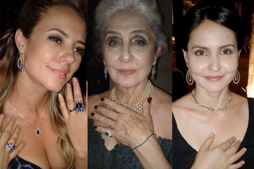 Anne Pepela Surita é a designer das joias usadas pelas atrizes da série Assédio da Globo