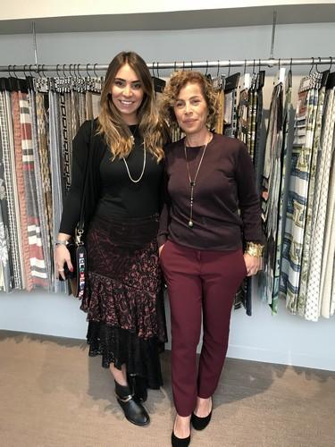 Patricia Hagobian e Eliana Gamal Mesquita