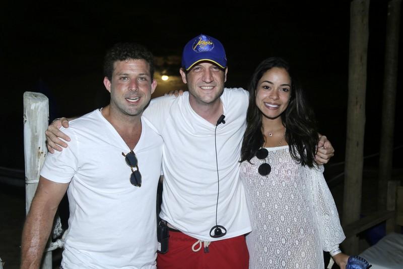 Rafael Rios, Fernando Rios e Ana Sandoval