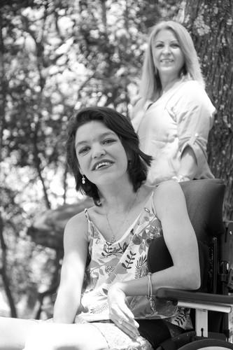 Samara e Claudia Del Monte