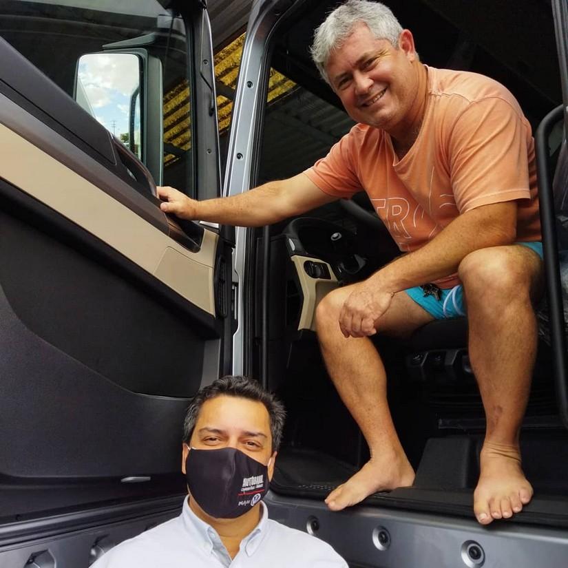 Segundo VW METEOR 28.460 para empresa Comboios Transportes Rodoviários de Guarapari. Sr Aarão