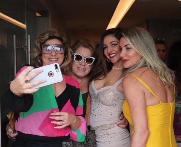 Tay Ruiz, Regina Celia Pereira, Monica Melissa e Prislla