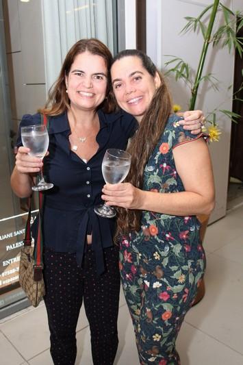 Thaiza Ruiz e Cristina Martuscelli