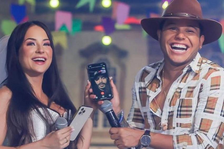 Tierry e Gabi Martins fazem live do Dia dos Namorados e vira assunto mais comentado do Brasil