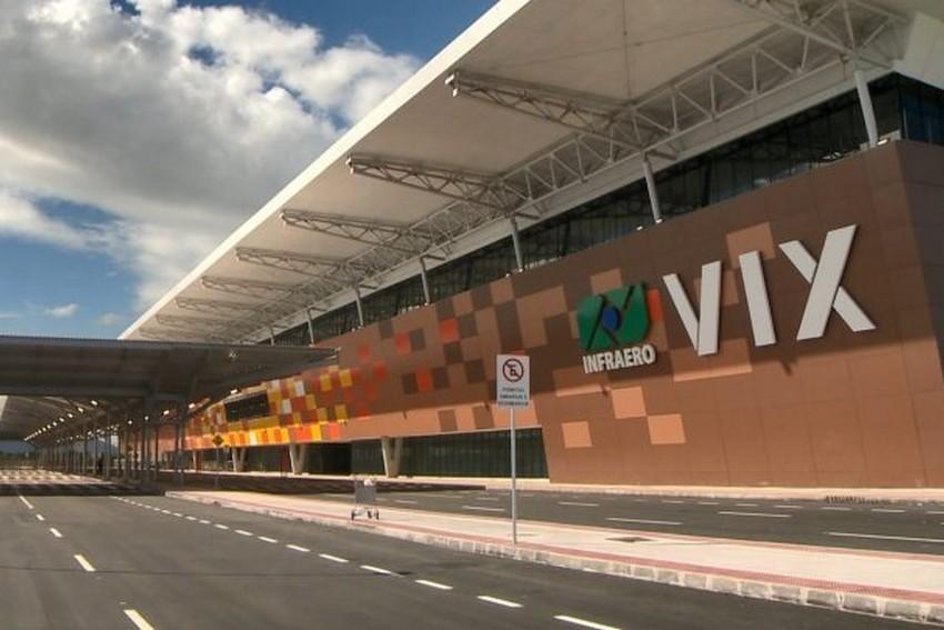 Aeroporto de Vitória é o melhor avaliado na categoria até 5 milhões de passageiros