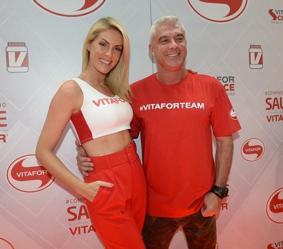 Ana Hickmann e Alexandre Correa