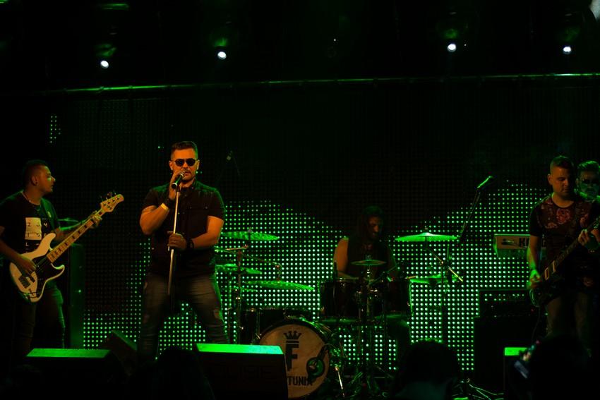 Fortunia faz grande show no Backstage Studio Hall no bairro Tatuapé