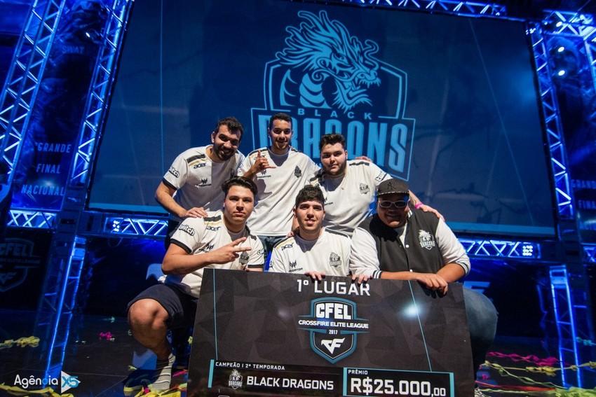 Equipe brasileira Black Dragons disputa mundial de CrossFire