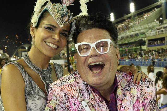 Camarote Rio Samba Carnaval recebe celebridades na Sapucaí