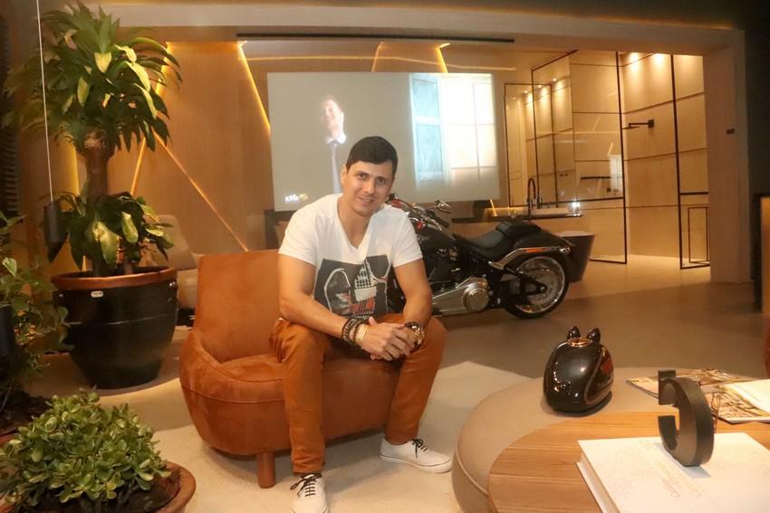 Casa Cor ES 2018 -  Arquiteto Christian Vieira e seu Loft do Motociclista