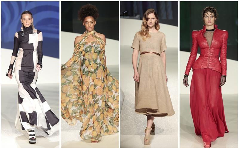 Famosas desfilam no Senai Brasil Fashion 2016