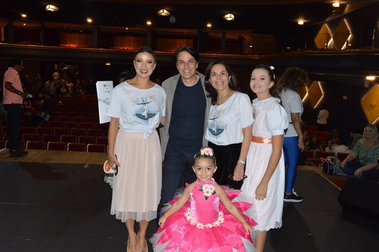 Duetto apresentou Dó Ré Mi A Noviça, no Teatro SESC Glória, em Vitória