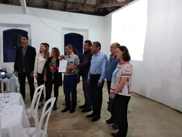 Assinatura do Termo de Cooperação Técnica entre IFES e a Prefeitura Municipal de Santa Leopoldina