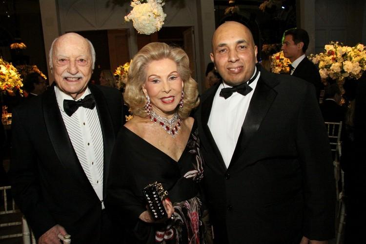 Luiz Alberto com Jair e Marisa Coser