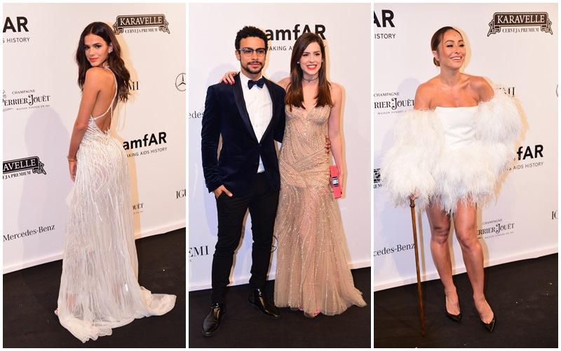 Famosos e seus looks fabulosos no baile Gala amfAR 2018