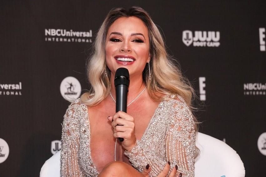 Juju Salimeni estreia como apresentadora de Reality Show