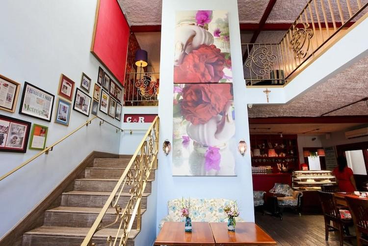 O charmoso espaço de eventos Lady fina, criado por Laura Wie,
