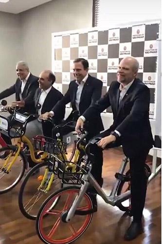 João Dória e sua equipe