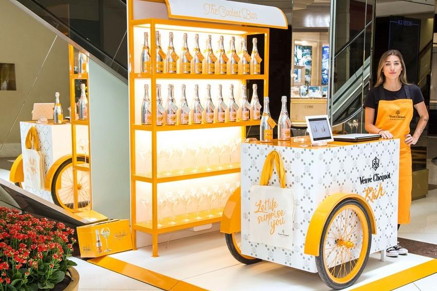 Veuve Clicquot inaugura pop up store