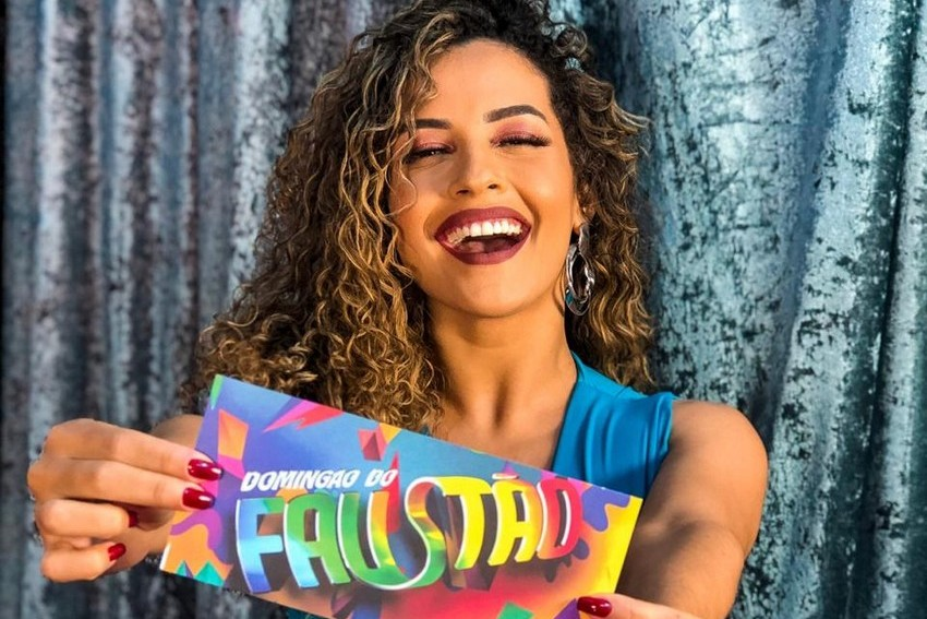 Bruna Santos, nova bailarina do Domingão do Faustão