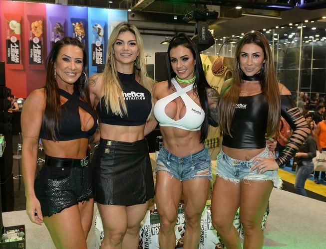 Scheila Carvalho, Kelly Key, Renata Costa e Jaque Khury