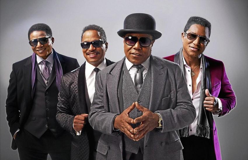 The Jacksons desembarcam no Brasil para dois shows