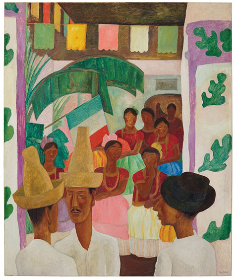 Christie's leiloará The Rivals, obra-prima de Diego Rivera