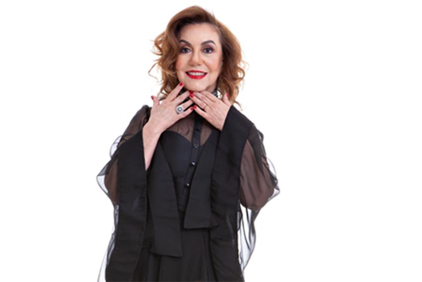 Vânia Bastos retorna a São Paulo com show consagrado